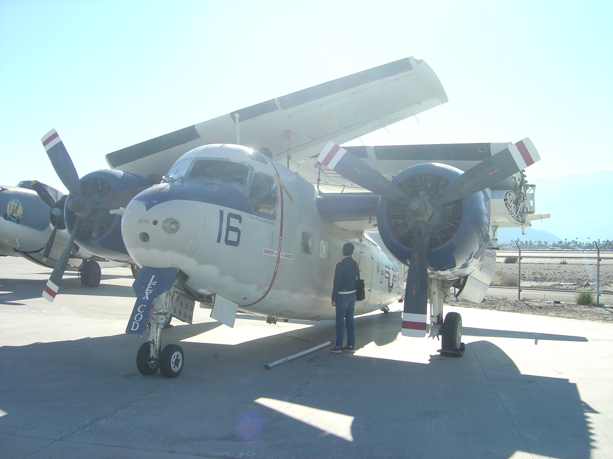 Grumman C-1A Trader and Joyce