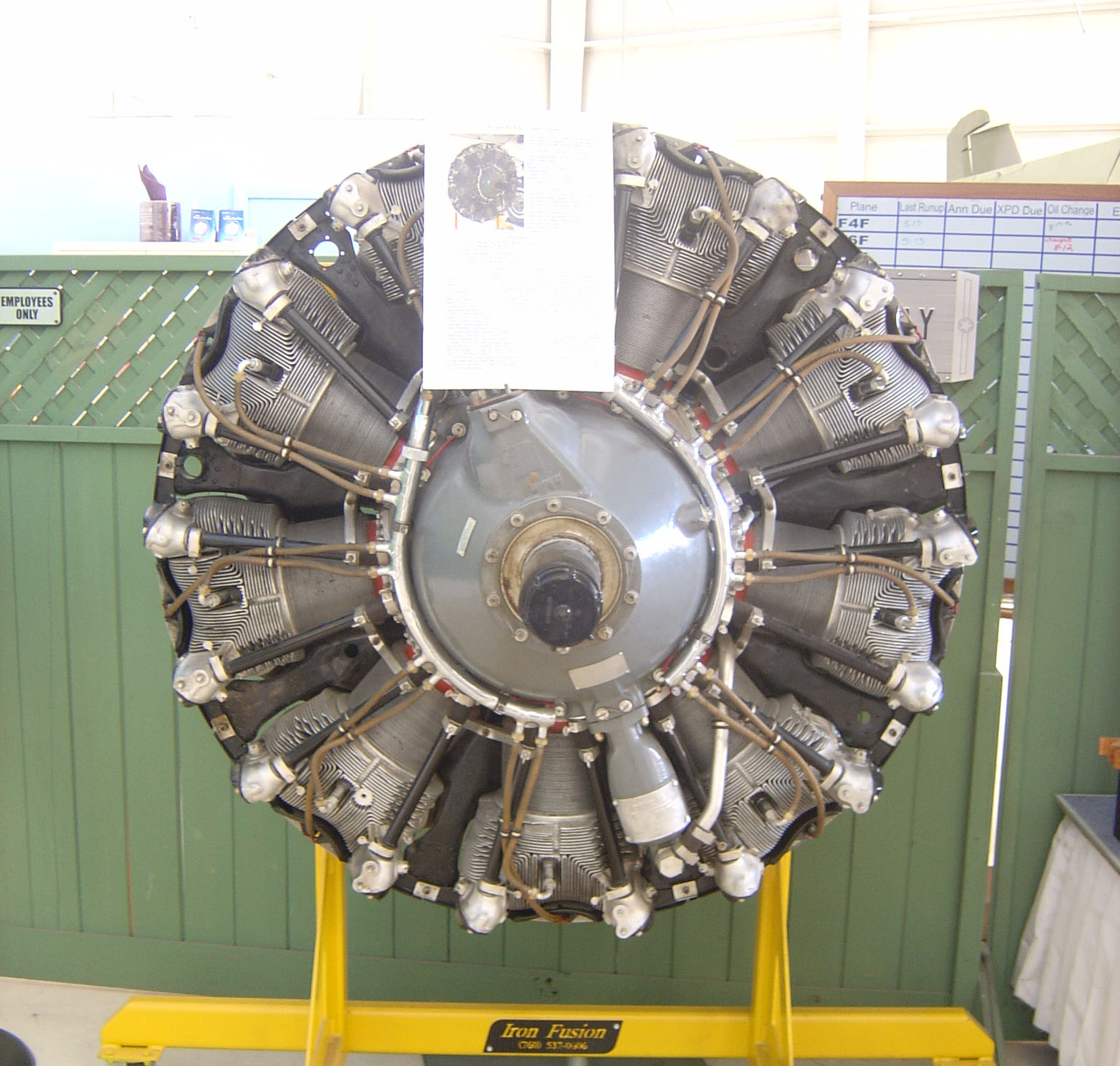 Wright R-1820 Cyclone Radial Engine