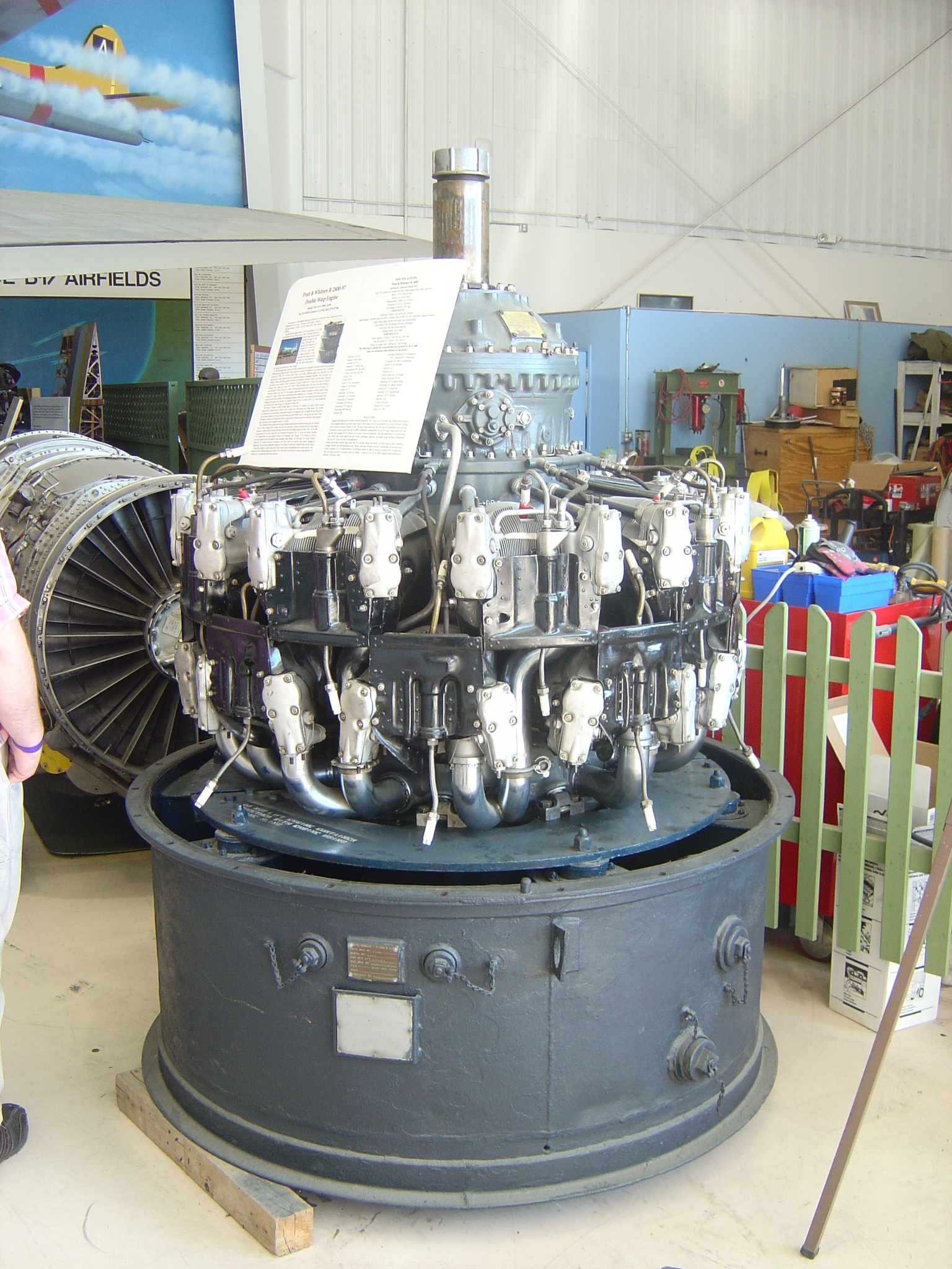 Pratt & Whitney R-2800 Double Wasp Radial Engine