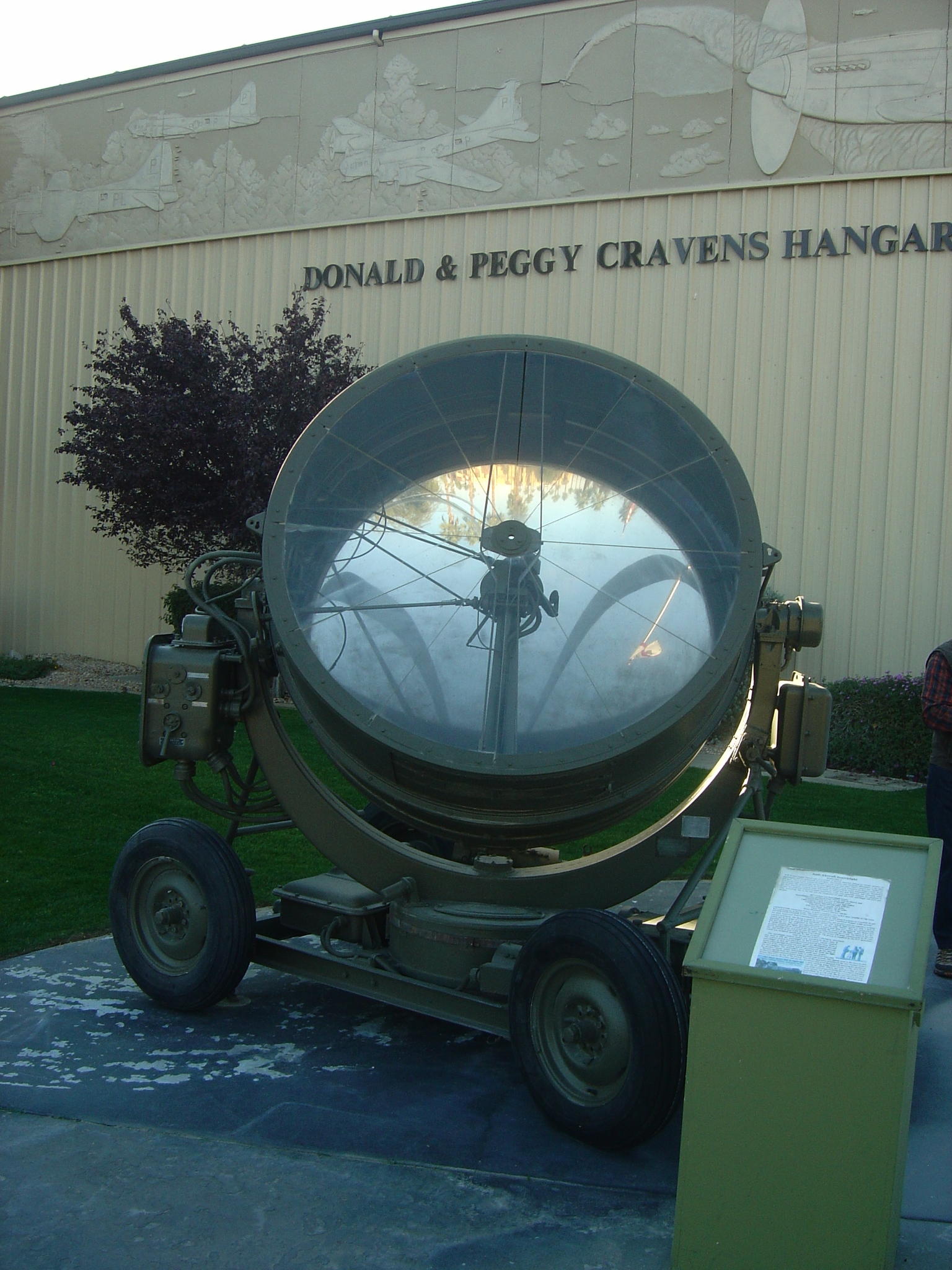 M-1942A Anti-Aircraft Searchlight