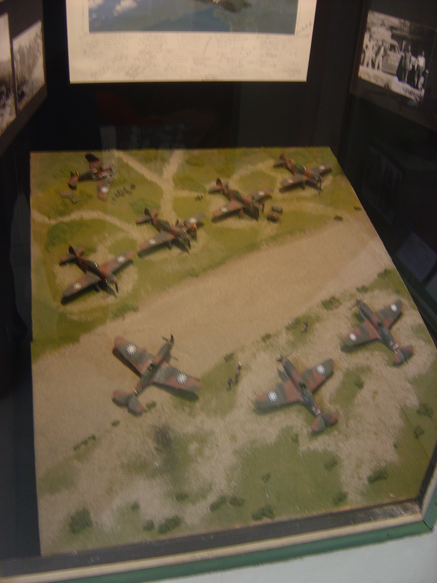 Flying Tigers Diorama