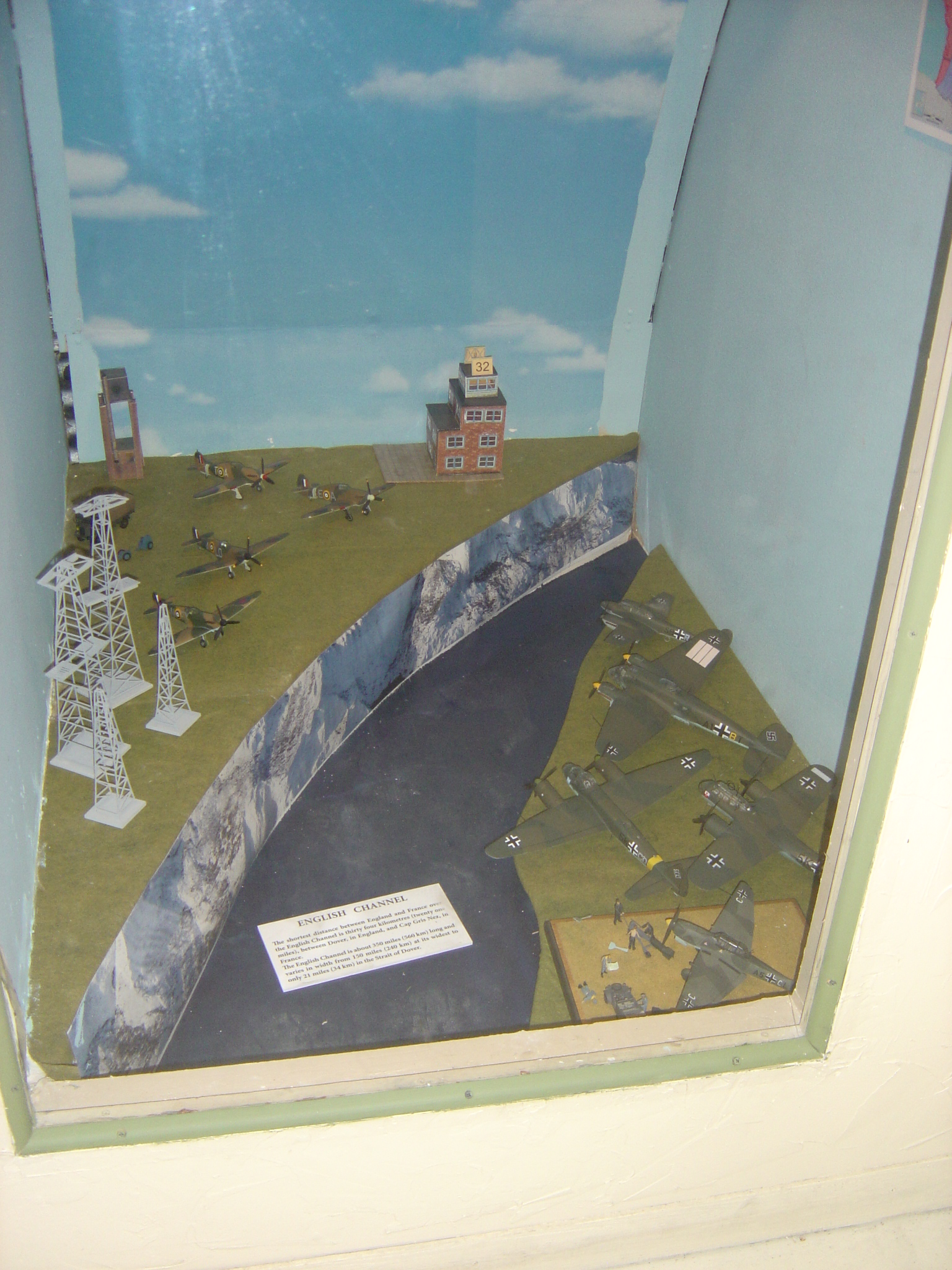 WWII British Vs. German Diorama