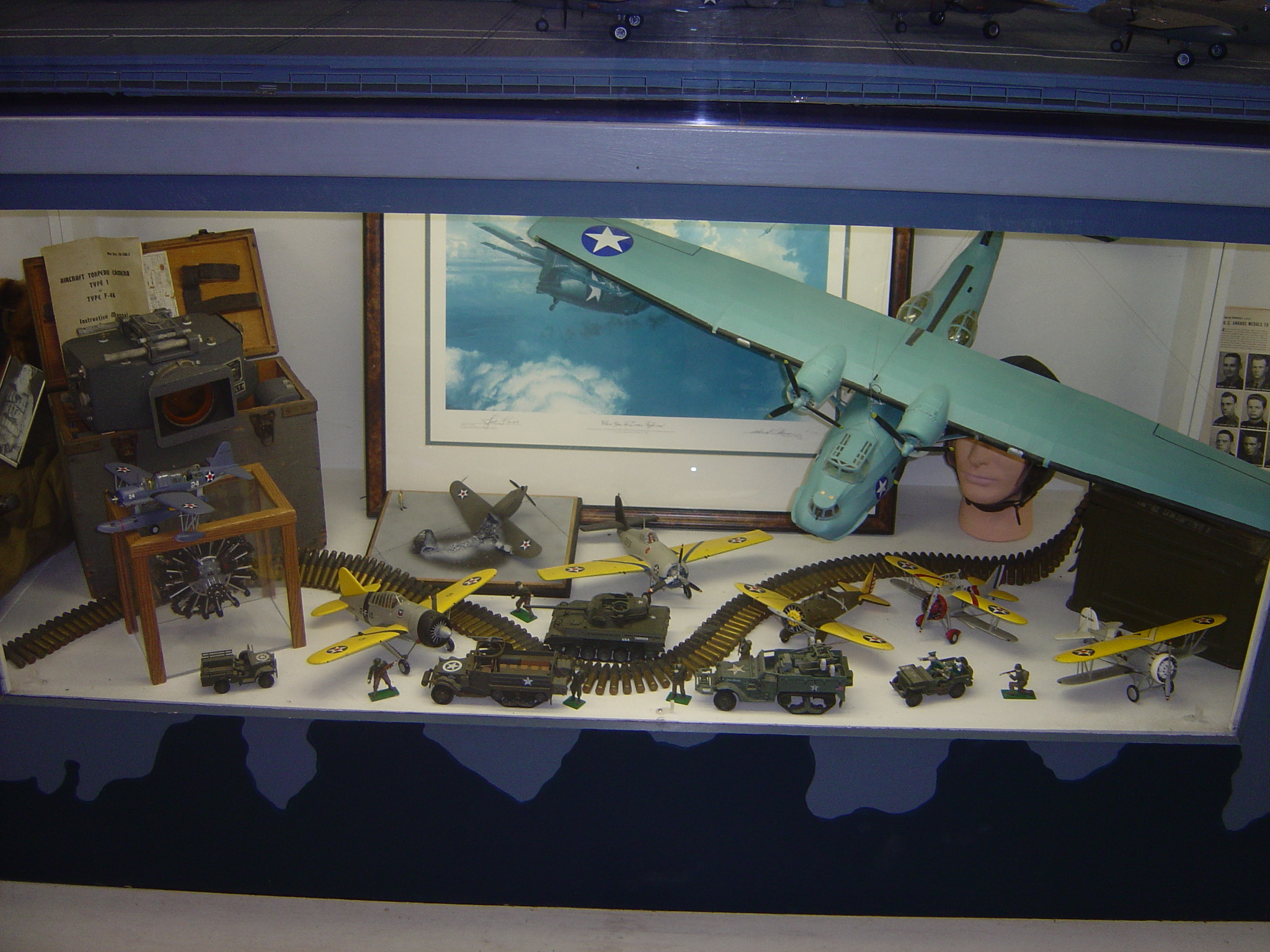 Display with Consolidated PBY Catalina
