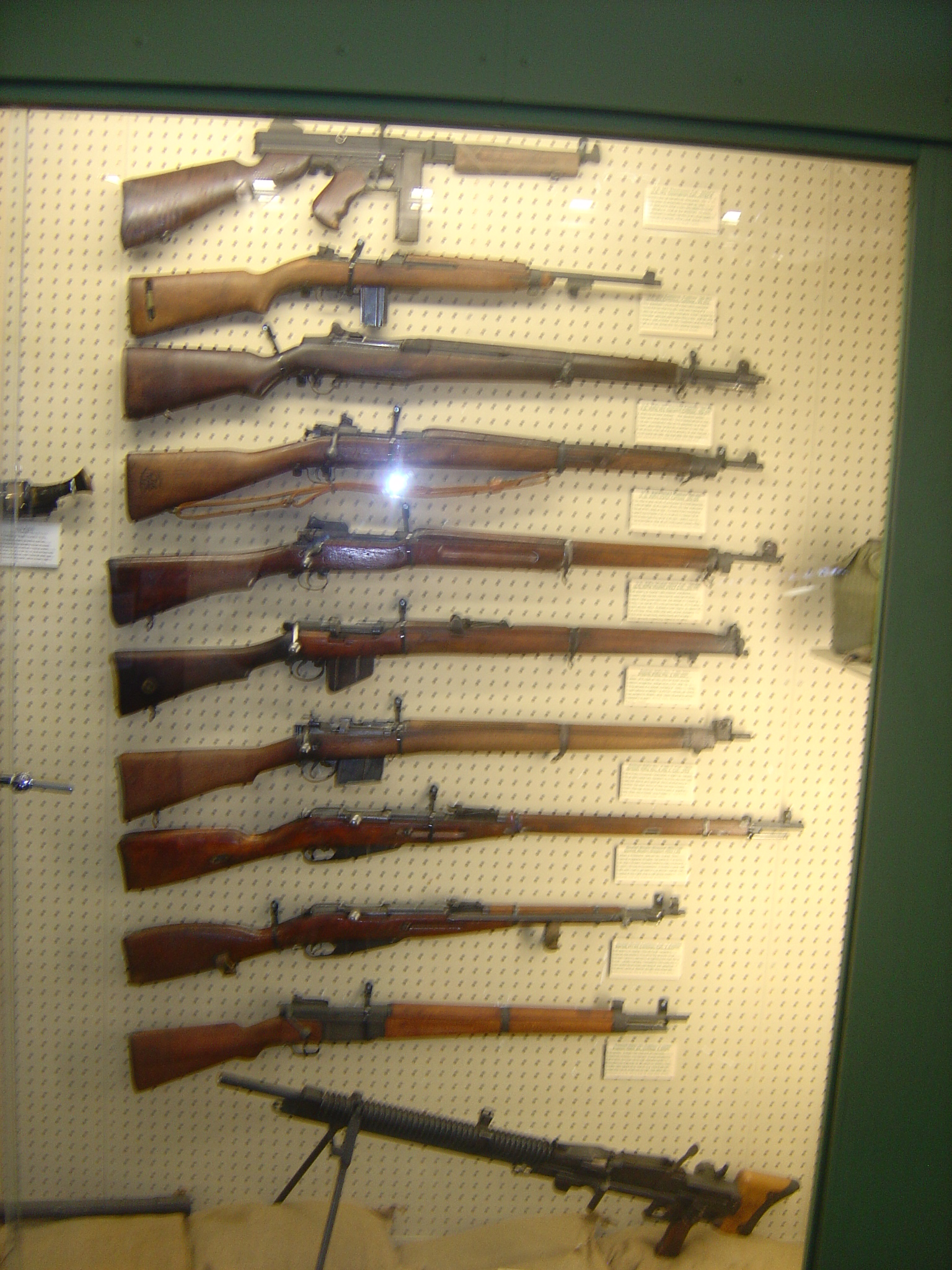 Various WWII Rifles