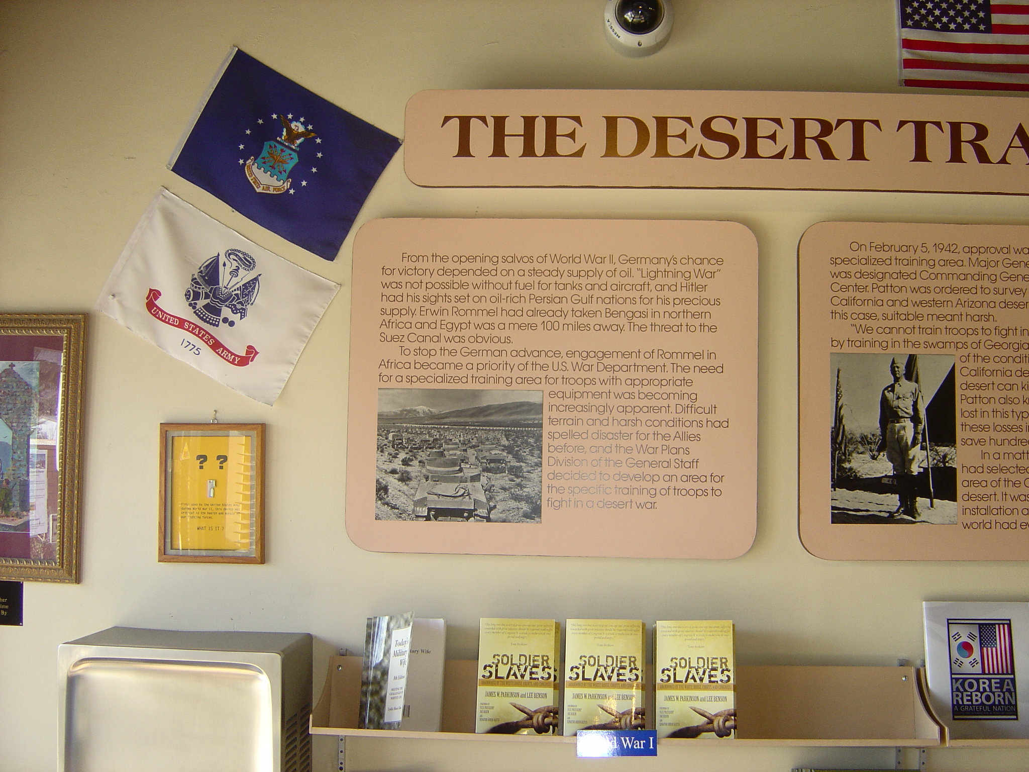 The Desert Training Center, Camp Young