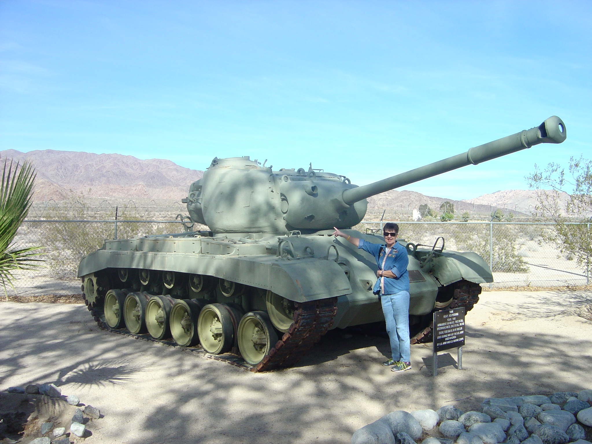 M26 Pershing Tank with Joyce
