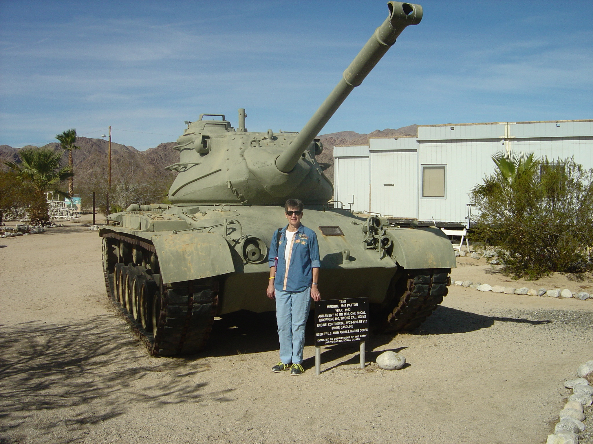 M47 Patton Tank and Joyce