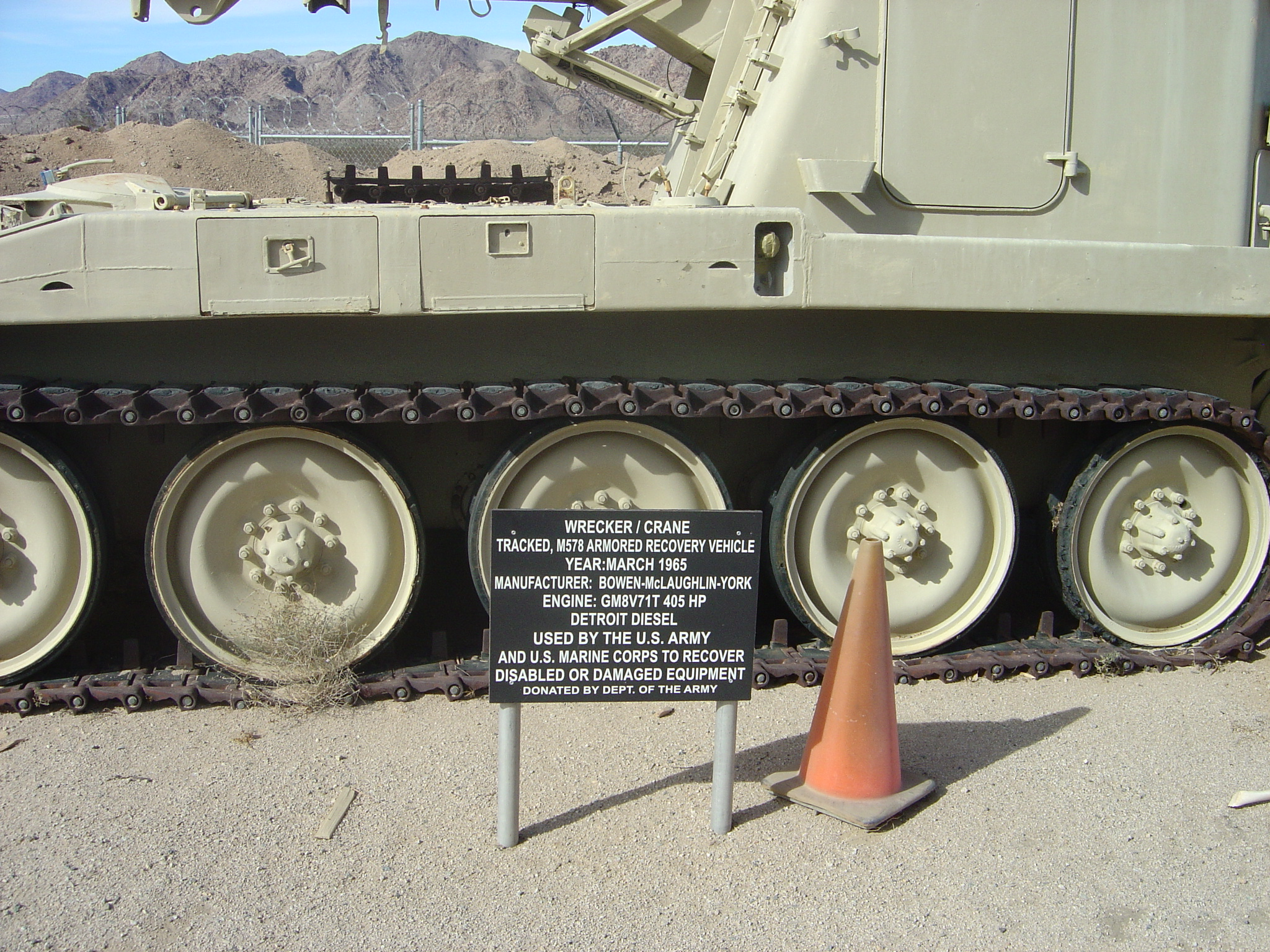 M578 Recovery Vehicle