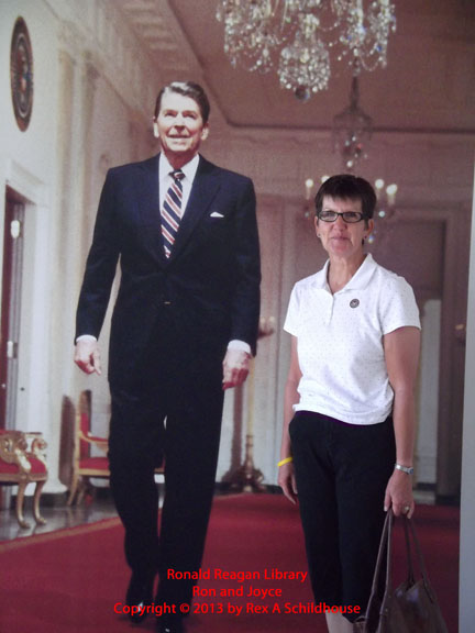 Ronald Reagan and Joyce