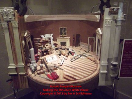 Miniature White House Workings