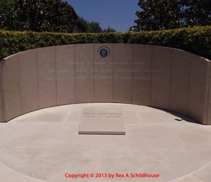 Ronald Wilson Reagan Burial Site