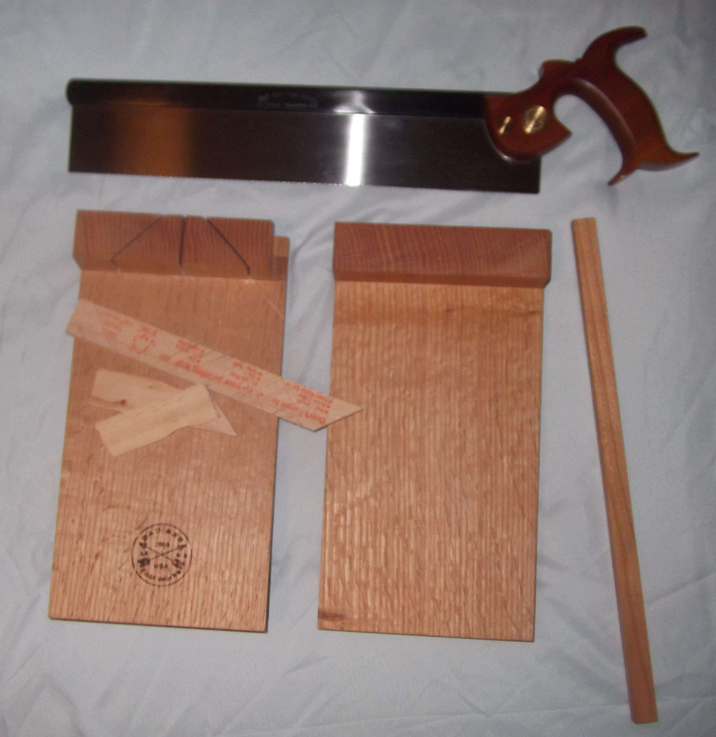 Bad Axe Saw and Bench Hook Set