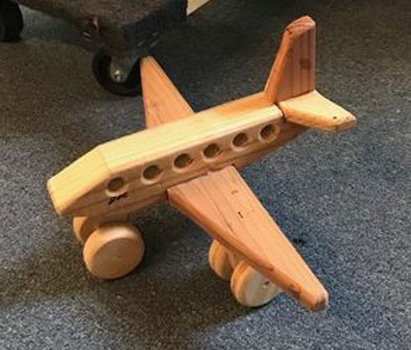 Doc Turpin's Wooden Airplane