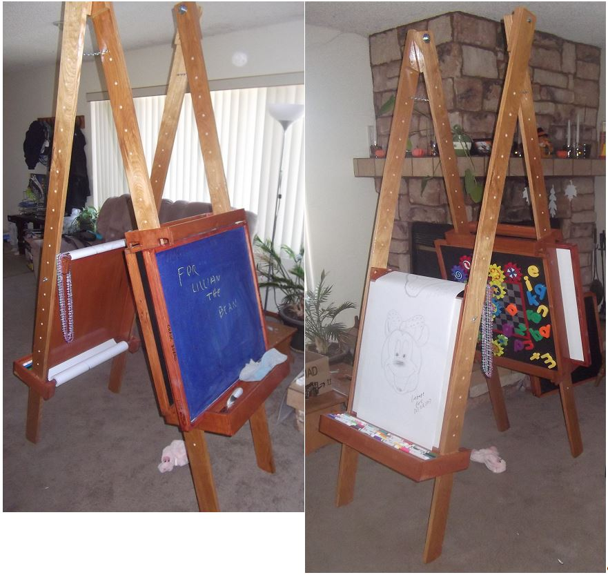Drawing / Activity Easel-Drawing