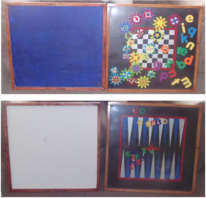 Drawing / Activity Easel-Activities