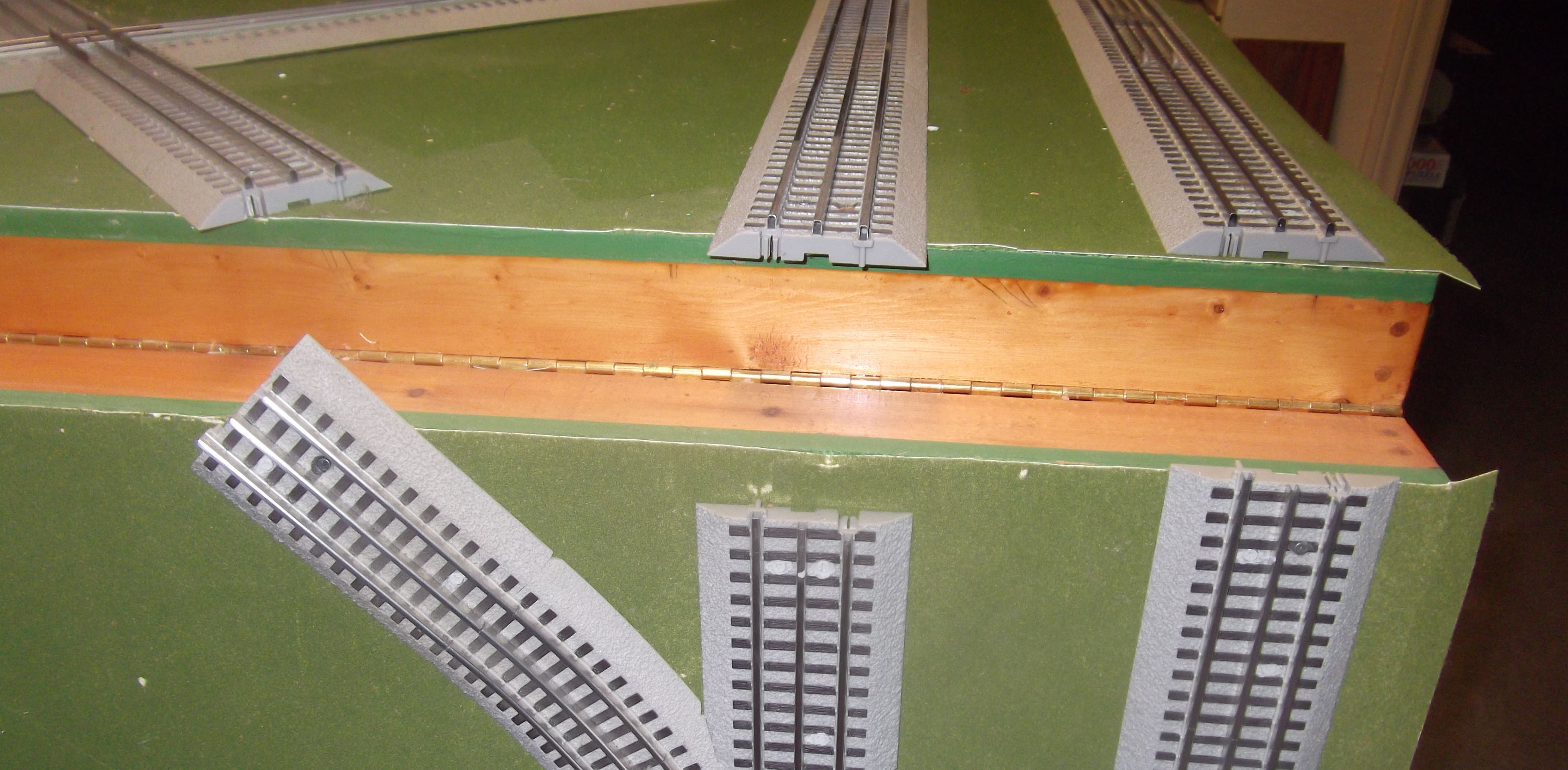 Fold-down Train Board