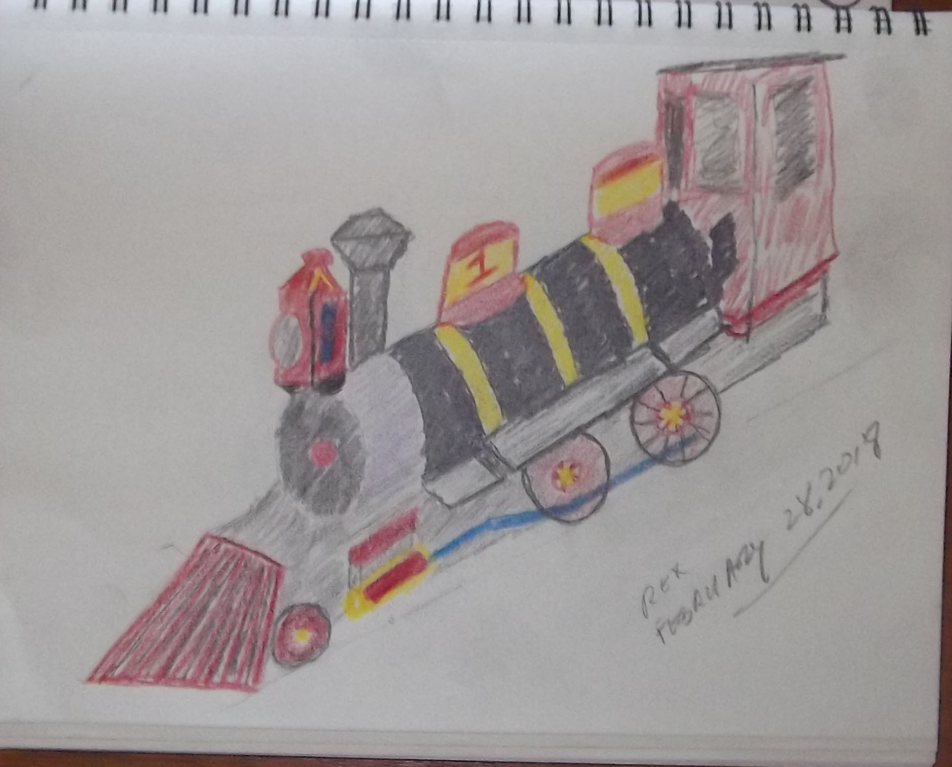 Disneyland Railroad #1 - Fred Gurley