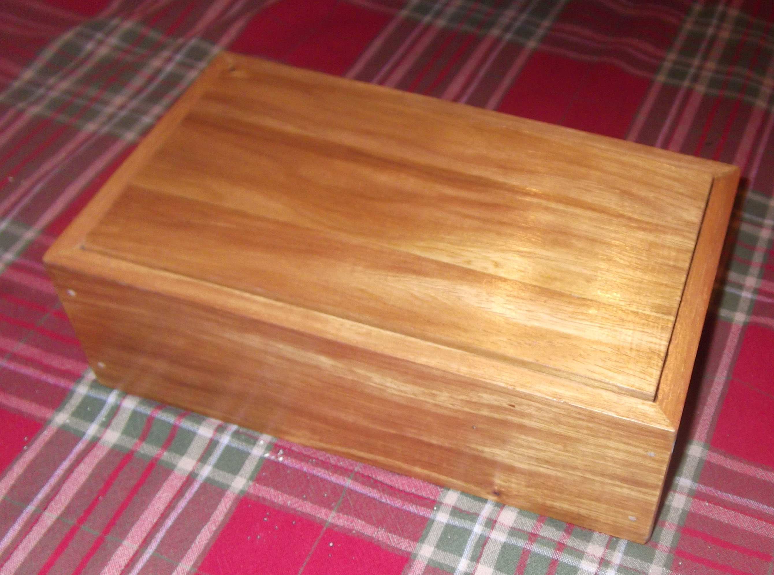 Narra Wood Jewelry Box