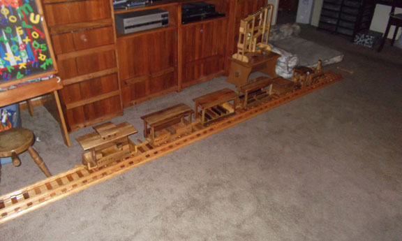 Lilli Bean Steam Train
