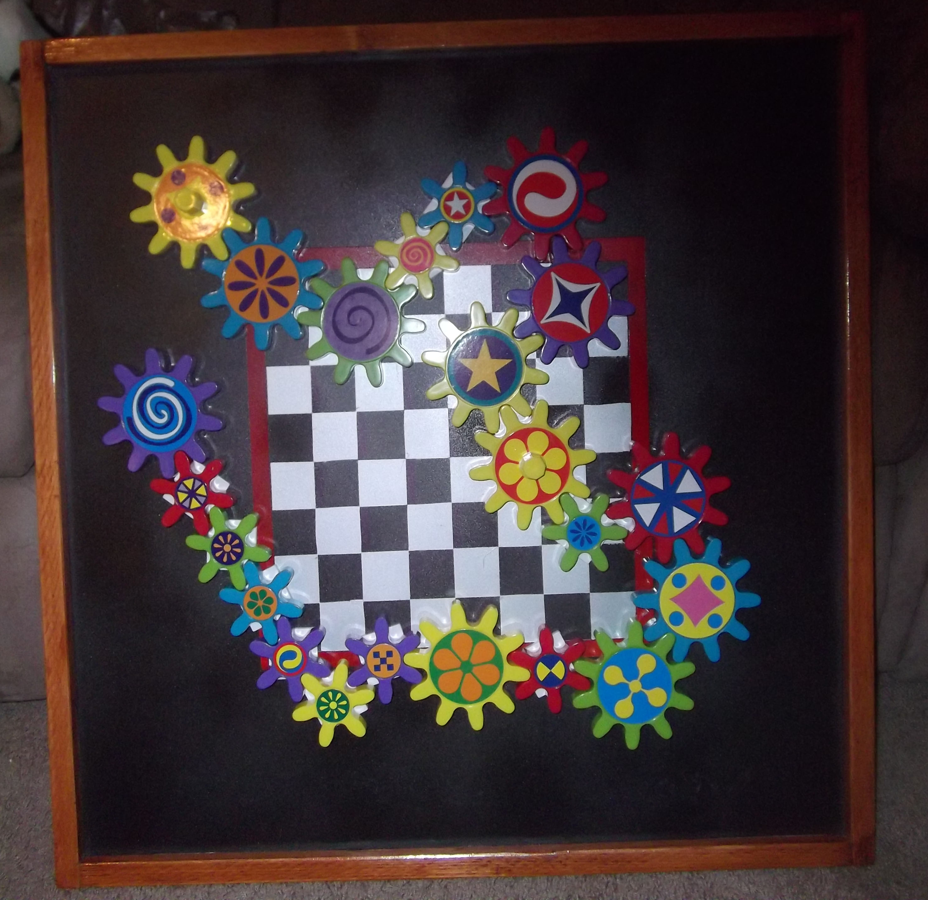 Magnetic Playing Board